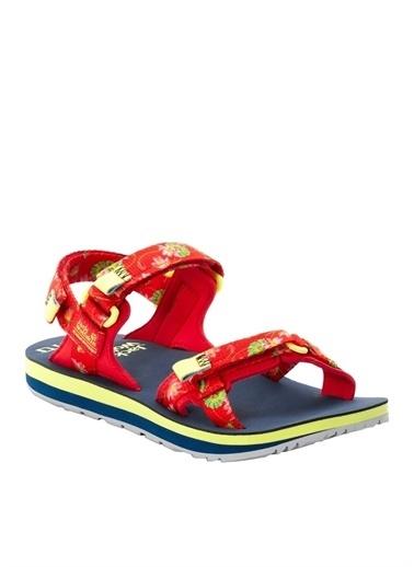 Jack Wolfskin Sandalet Kırmızı